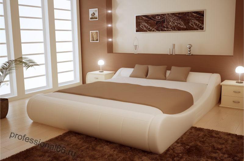 Красивые двуспальные кровати 210